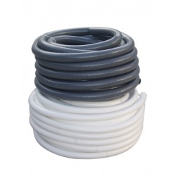 TUBO SANITA PVC FLEX 50MM GRIS