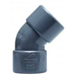 CODO PVC H H 45_ CHH-04