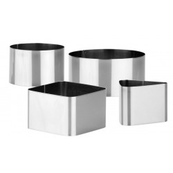 ARO EMPLATAR INOX CHEF SET-4
