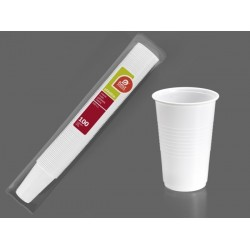 VASO DESECHABLE BLANCO B/100