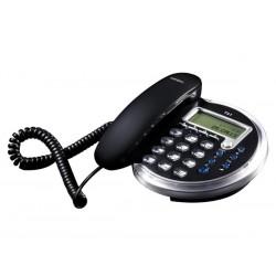 TELEFONO SOBREMESA NEGRO T41