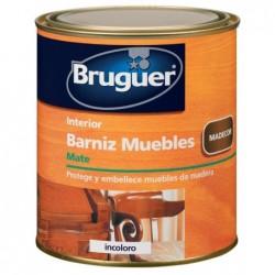 BARNIZ MUEBLES MATE INCOLORO